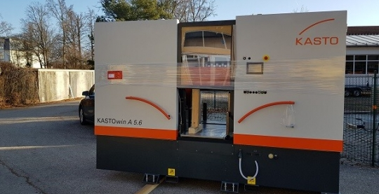 Neue KASTO-Maschine