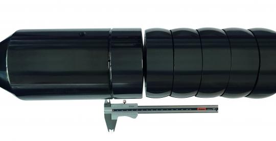 Aluminisiertes Stahlrohr abriebfrei biegen
